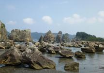 串本、橋杭岩、和歌山