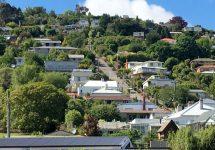 ダニーデン,ボルドウィンストリート,世界一急な坂、ニュージランド
