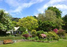ニュージーランド旅行、ダニーデン、オタゴ半島、glenfallich庭園
